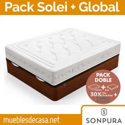 Pack Sonpura Canapé Abatible Global y Colchón Gaudí