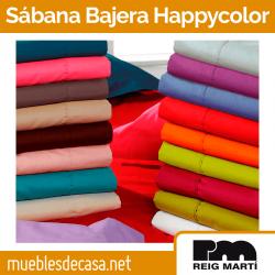 Sábana Bajera Happy color Ajustable 50% Algodón 50% Poliéster de Reig Marti