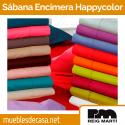 Sábana Encimera Happycolor 50% Algodón 50% Poliéster Reig Martí