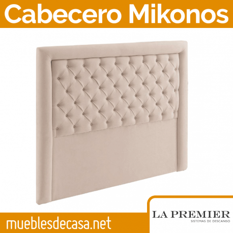 Cabecero Tapizado La Premier, Modelo Mikonos