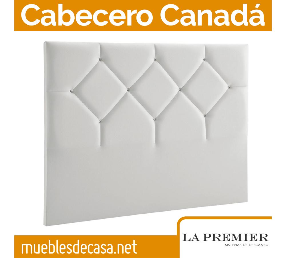 Cabecero Tapizado La Premier, Modelo Canadá