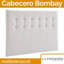 Cabecero Tapizado La Premier, Modelo Bombay