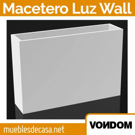 Macetero de Diseño para Exterior Vondom Luz Wall