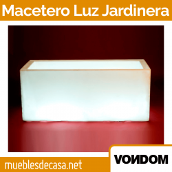 Macetero Vondom Llum Jardinera