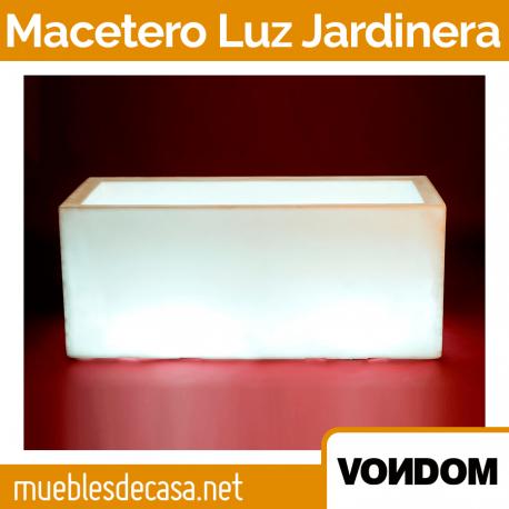 Macetero de Diseño para Exterior Vondom Jardinera Luz Led