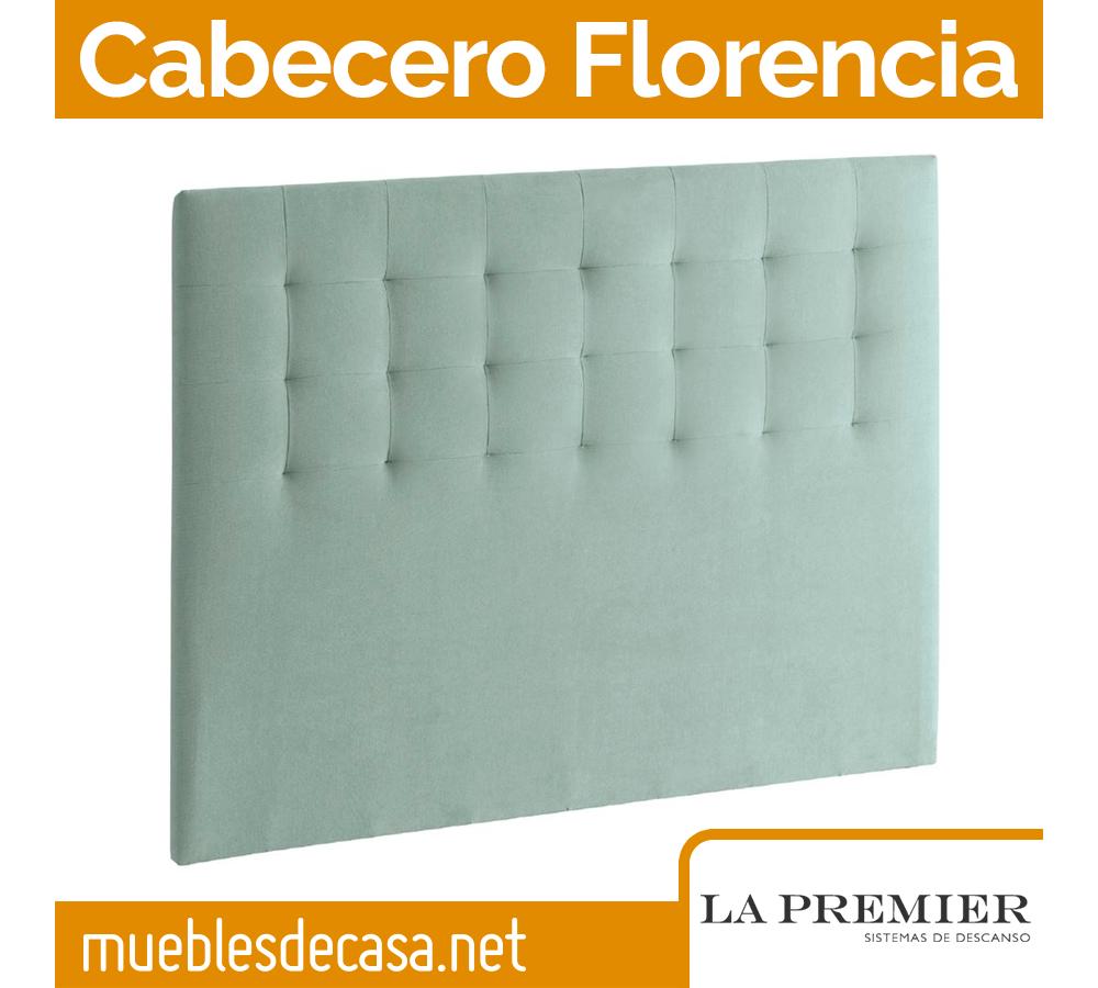 Cabecero Tapizado La Premier, Modelo Florencia