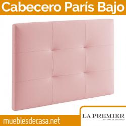 Cabecero Tapizado La Premier, Modelo París Bajo