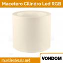 Macetero de Diseño para Exterior Vondom Cilindro LED RGB
