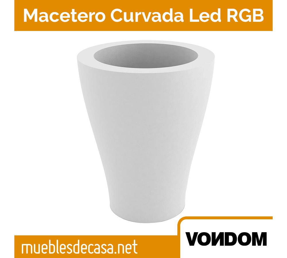 Macetero Vondom Curvada LED RGB