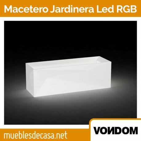 Macetero de Diseño para Exterior Vondom Jardinera LED RGB
