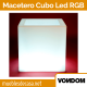 Macetero Vondom Cubo LED RGB