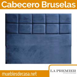 Cabecero Tapizado La Premier, Modelo Bruselas