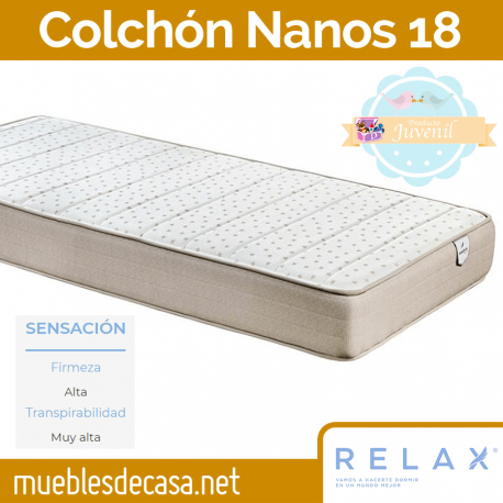 Colchón Relax Nanos 18