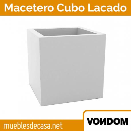 Macetero Cubo Vondom Lacado