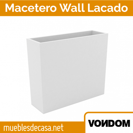Macetero de Diseño para Terraza Vondom Lacado Wall