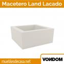 Macetero de Diseño para Jardín Vondom Lacado modelo Land