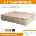 Canapé Abatible Relax Musa 32 cm