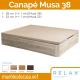 Canapé Abatible Relax Musa 32/38