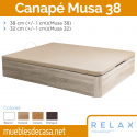 Canapé Abatible Relax Musa 38 cm