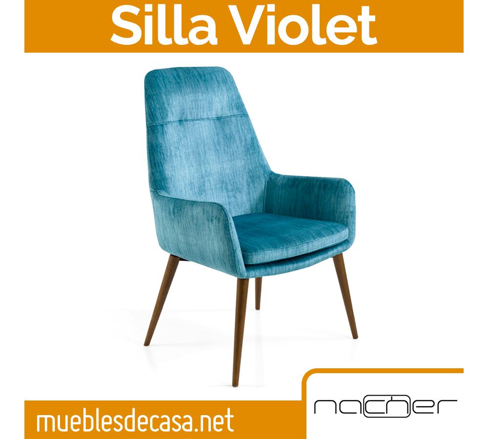 Silla Lounge Nacher Violet