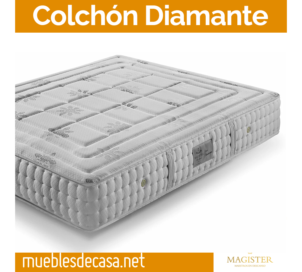 Colchon Diamante de Magister