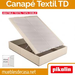 Canapé Abatible Tapizado Pikolin Textil Doble Tapa