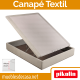 Canapé Abatible Textil de Pikolin