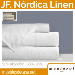 Juego Nórdico Manterol Linen 50% Lino 50% Algodón