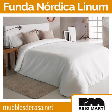 Funda Nórdica Reig Martí Linum 100% Lino