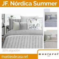 Juego de Funda Nórdica Summer Rayas de Manterol
