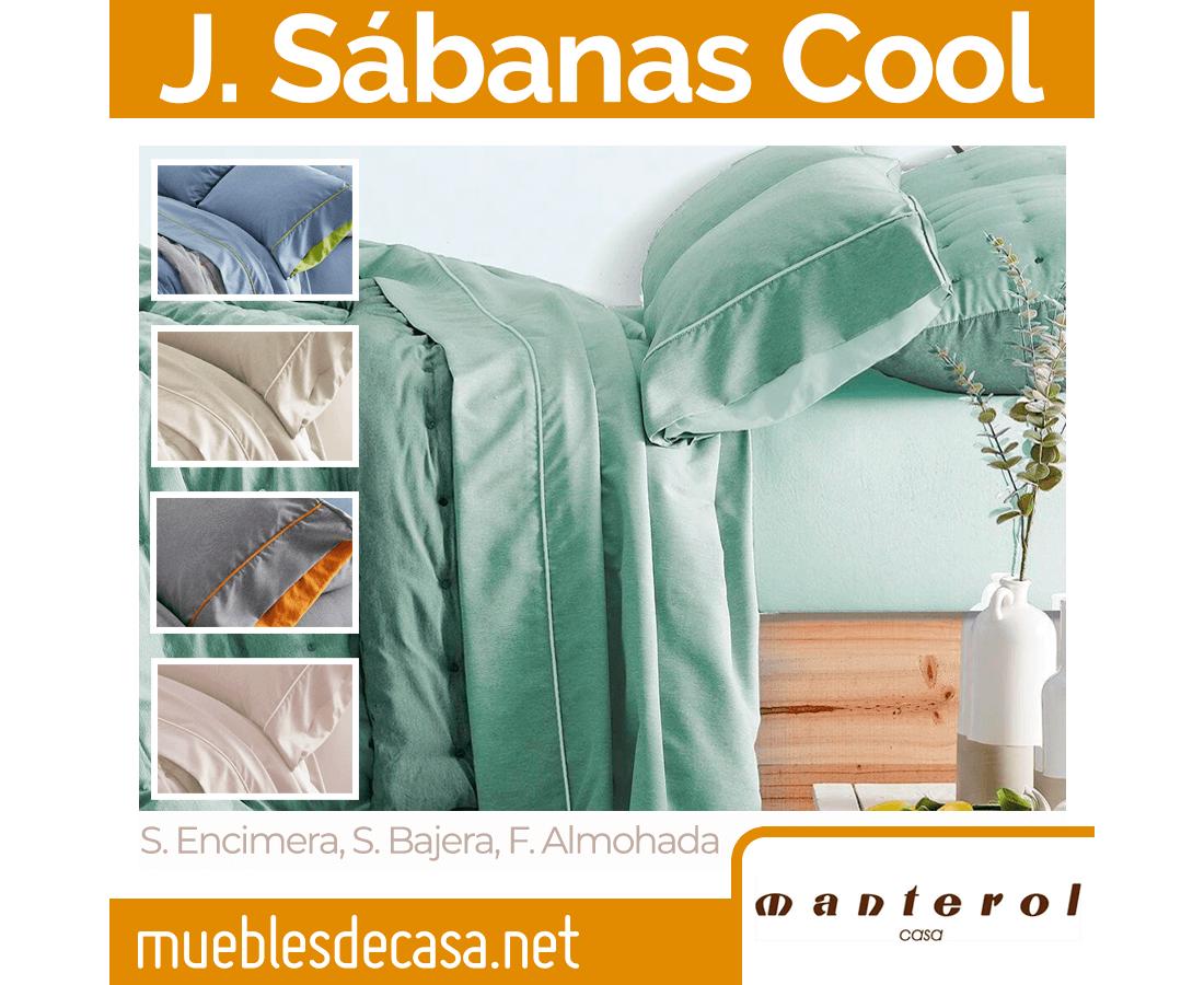 Juego de Sábanas Manterol Cool 001 100% Microfibra