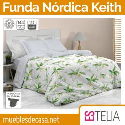 Juego Funda Nórdica Keith Estelia