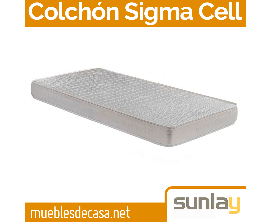 Colchón Sigma Cell Sunlay