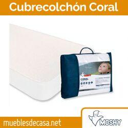 Cubrecolchón Impermeable y Transpirable Coral de Moshy OUTLET 135x190