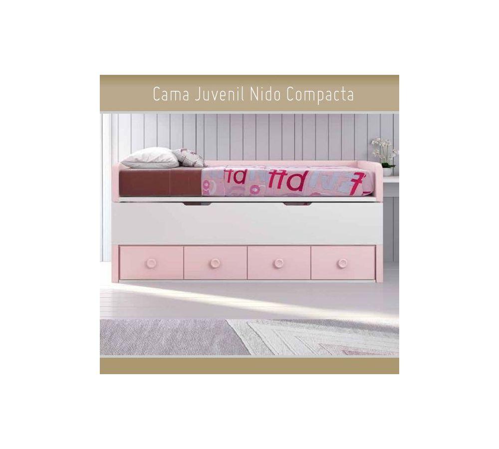 Top 28 cama nido juvenil compacta con cama nido - Cama juvenil compacta ...
