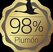 Plumón 98%
