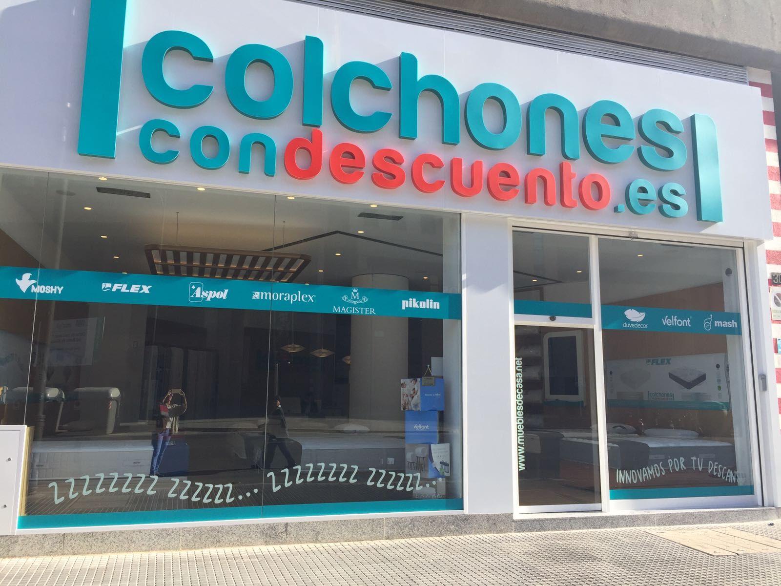 Tienda de Colchones en el Centro de Málaga