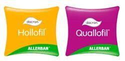 Hollofil® Allerban® de Dacron® almohadas mash de fibra