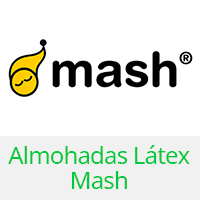 almohadas latex mash