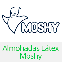 almohada latex moshy