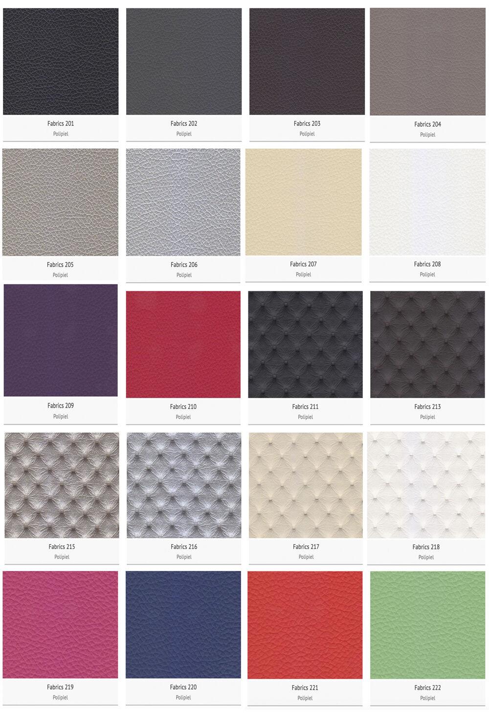 colores cabeceros tapizados
