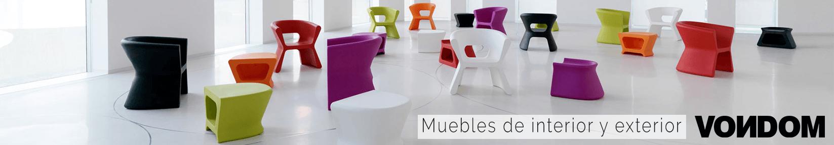 muebles de diseño Vondom