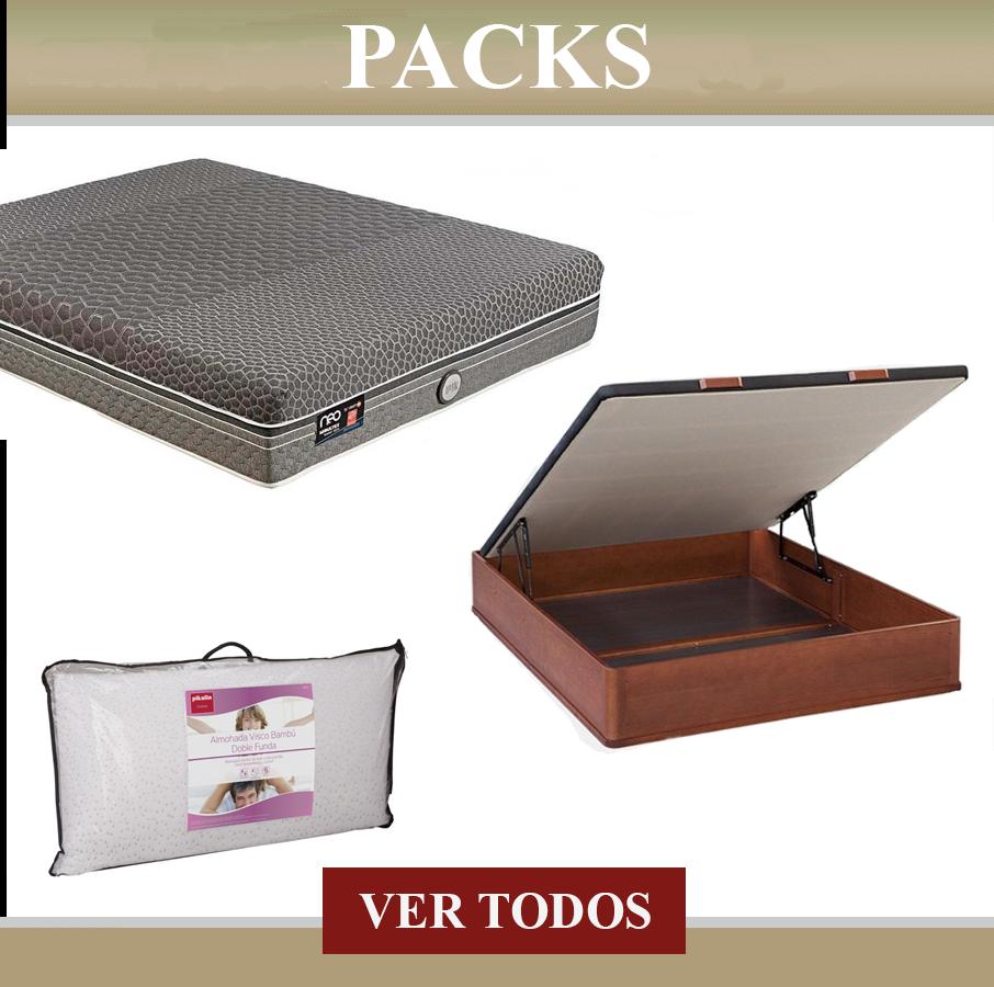 Venta online Packs Colchon y Canape