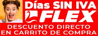 Dias SIN IVA Flex Modelos Seleccionados