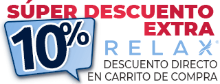 descuento extra colchones relax