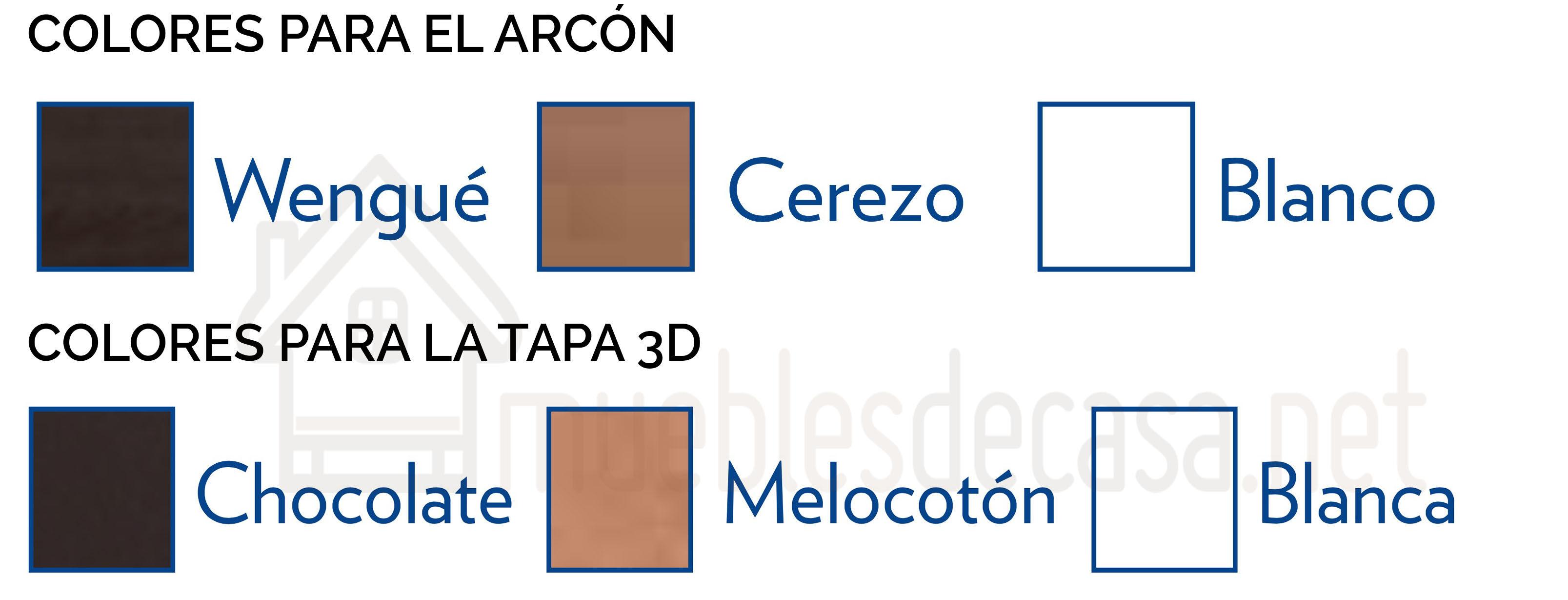 colores canapé abatible madera 19 de flex