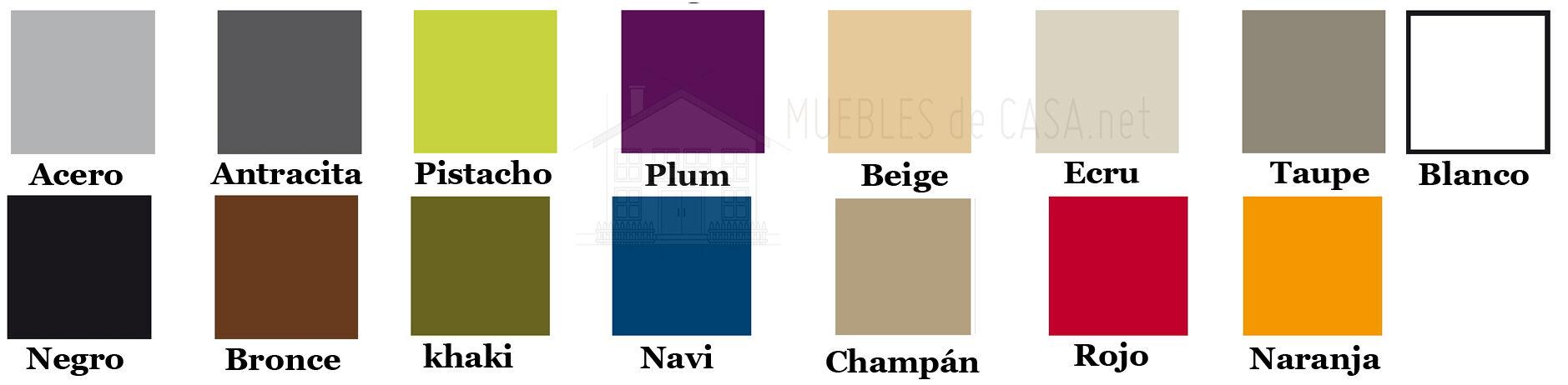 colores muebles vondom