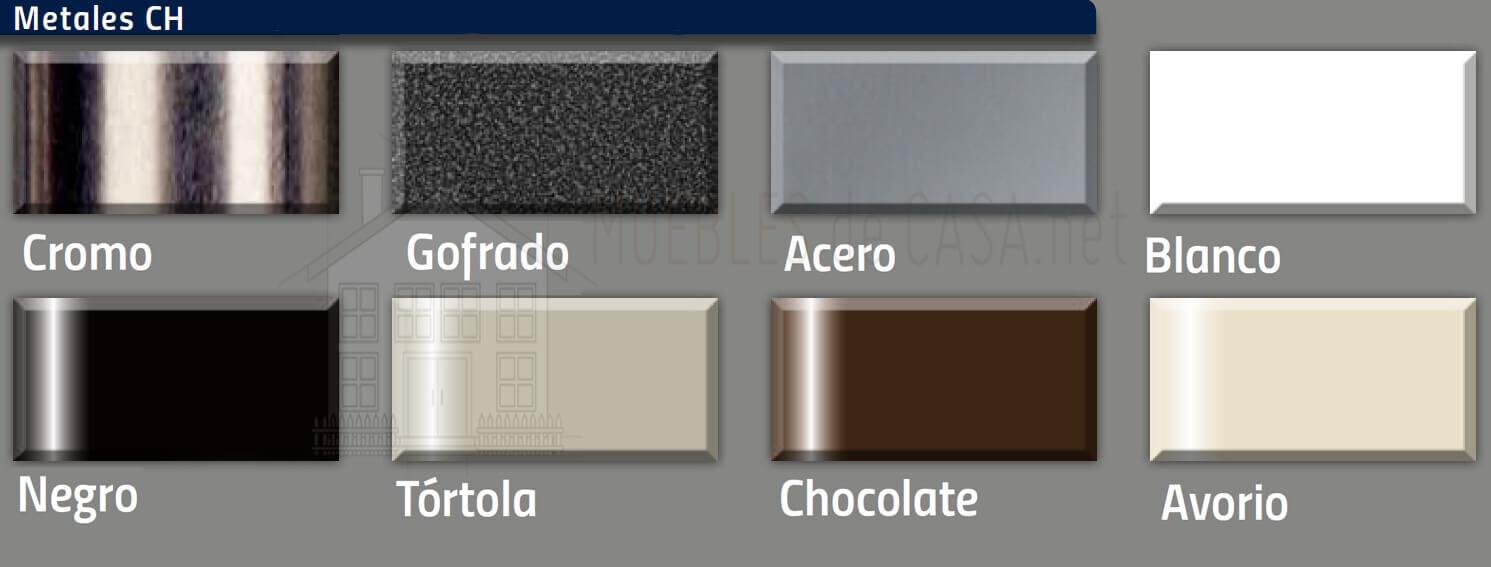 colores metales ch muebles nacher
