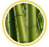 tejido bambú