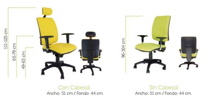silla de oficina signo